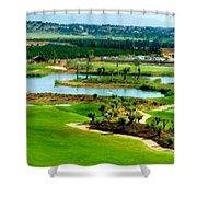 Landscape Art Shower Curtain