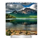 Landscape Fine Art Shower Curtain