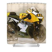 46  Rossi Shower Curtain