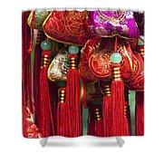 4647- Chinese Tassels Shower Curtain