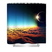 C R Landscape Shower Curtain