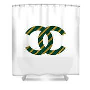 Chanel Style Png Shower Curtain