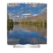 47- Everglades Serenity Shower Curtain