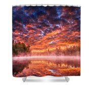 Landscape Acrylic Shower Curtain