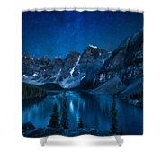 Print Landscape Shower Curtain