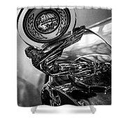 47 Triumph Roadster Shower Curtain