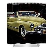 48 Buick Ragtop Shower Curtain