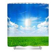 Landscape Color Shower Curtain