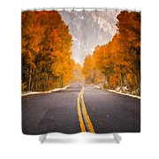 Landscaped Shower Curtain