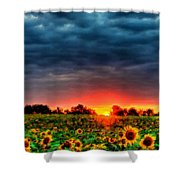 Landscapes To Paint Shower Curtain