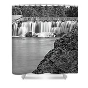 Grand Falls Waterfall Shower Curtain