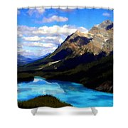 Nc Landscape Shower Curtain