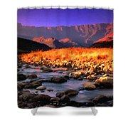 Romantic Landscape Shower Curtain