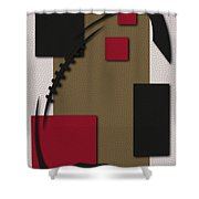49ers Football Art Shower Curtain