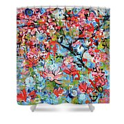 3rd Day Of Creation 201808 Shower Curtain