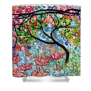3rd Day Of Creation 201809 Shower Curtain