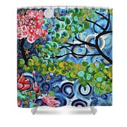 4th Day Of Creation 201812 Shower Curtain