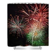 4th Of July Fireworks Display Portland Oregon Shower Curtain