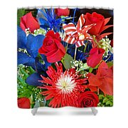 4th Of July Surprise  Shower Curtain