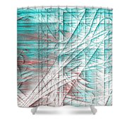 4x3.133-#rithmart Shower Curtain