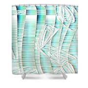 4x3.85-#rithmart Shower Curtain