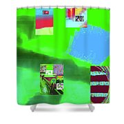 5-14-2015gabcdefghijklmnopq Shower Curtain