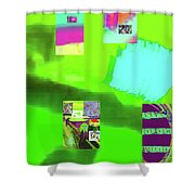5-14-2015gabcdefghijklmnopqrtu Shower Curtain