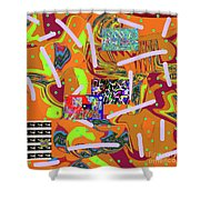 5-22-2015gabcdefghijklmnopqrtuvwxyzabcd Shower Curtain