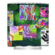 5-25-2015cabcdef Shower Curtain