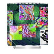 5-25-2015cabcdefghijklmnopqrtuvwxyzabcd Shower Curtain
