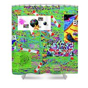 5-3-2015gabcdefghijklmnopqrtuvwxyzabcd Shower Curtain