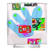 5-5-2015babcdefghijklmnopqrtuvwxyz Shower Curtain
