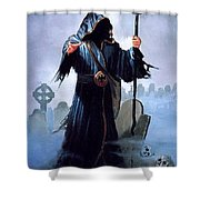 A Christmas Carol Dean Morrissey Shower Curtain