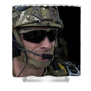 A U.s. Air Force Combat Controller Shower Curtain