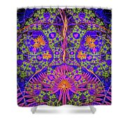 Abstract Graphics Shower Curtain
