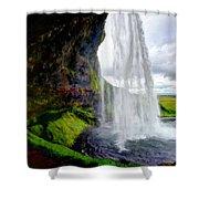 Acrylic Landscape Shower Curtain