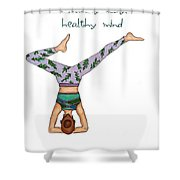 Ad Fashion Shower Curtain