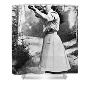 Annie Oakley (1860-1926) Shower Curtain by Granger