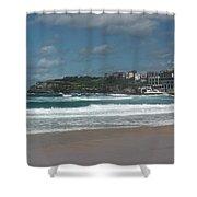 Australia - Bondi Beach Southern End Shower Curtain