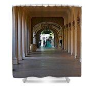 Balboa Park, San Diego Shower Curtain