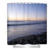 Ballynaclash Beach At Dawn Shower Curtain