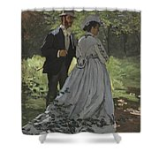 Bazille And Camille Shower Curtain