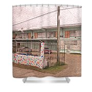Belize Ywca Building Shower Curtain