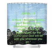 Bible Verse  Shower Curtain