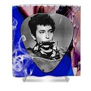 Bob Dylan Art Shower Curtain