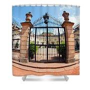 Buchlovice Castle Shower Curtain