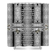 Business Blessing Shower Curtain