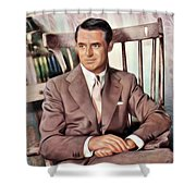 Cary Grant, Vintage Actor Shower Curtain