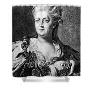 Catherine II (1729-1796) Shower Curtain