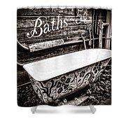 5 Cent Bath Shower Curtain